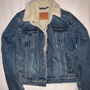 ✨Levi Sherpa jacket